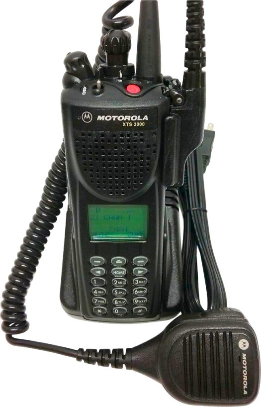 Motorola XTS 3000 III 800MHz P25 Digital Two Way Radio SMARTzone
