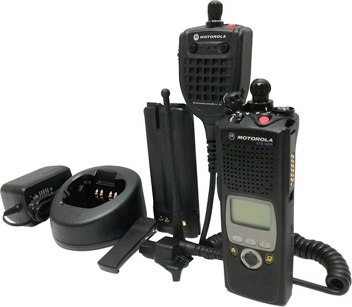 XTS 5000 II P25 Digital Two Way Radio 800 MHz ADP Motorola ASTRO