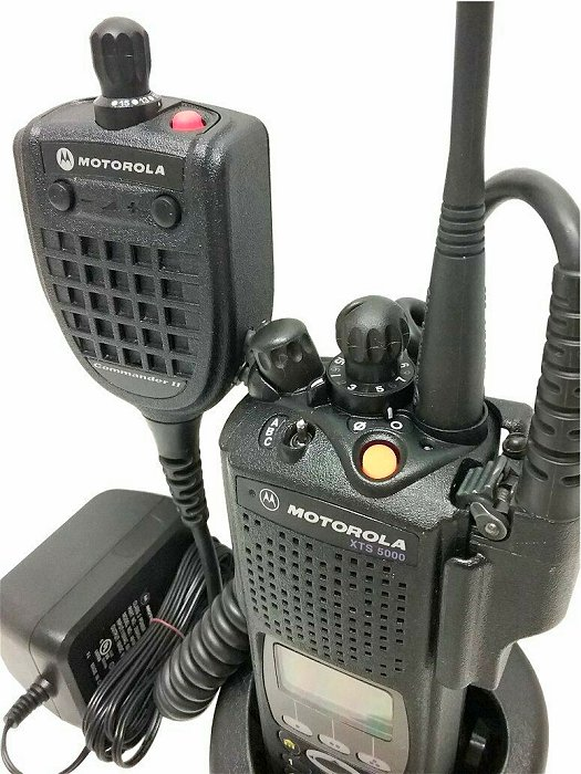 Motorola ASTRO XTS5000 III 7/800 MHz P25 Digital Two Way Radio