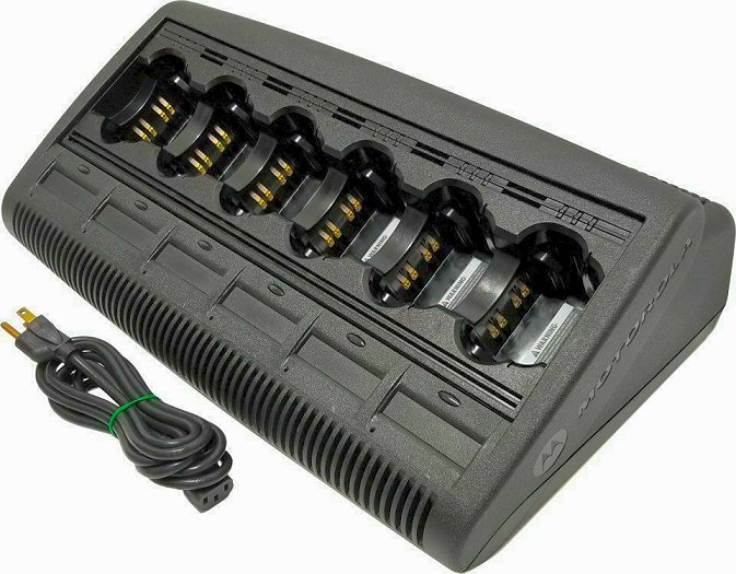 Motorola IMPRES XTS2500 XTS3000 XTS5000 Multi Unit Bank Charger